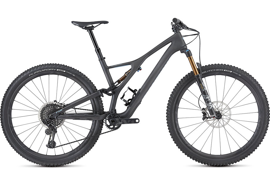 "horské kolo Specialized S-Works Stumpjumper FSR ST Carbon 29"" 2019 satin/carbon/gray"