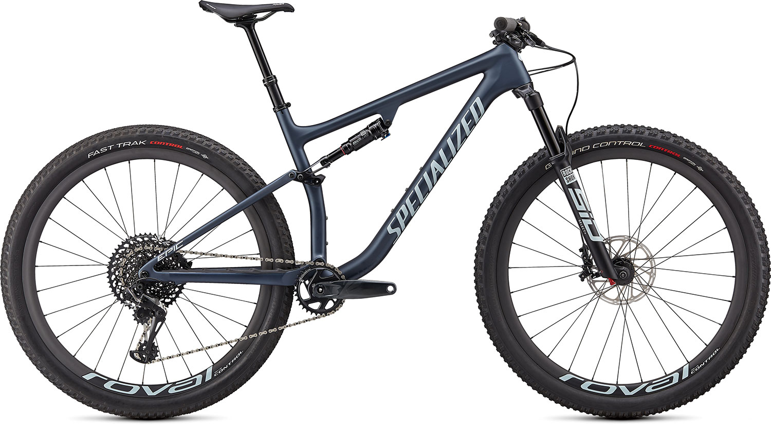 "horské kolo Specialized Epic Evo Expert 29"" 2021 satin blue metallic"