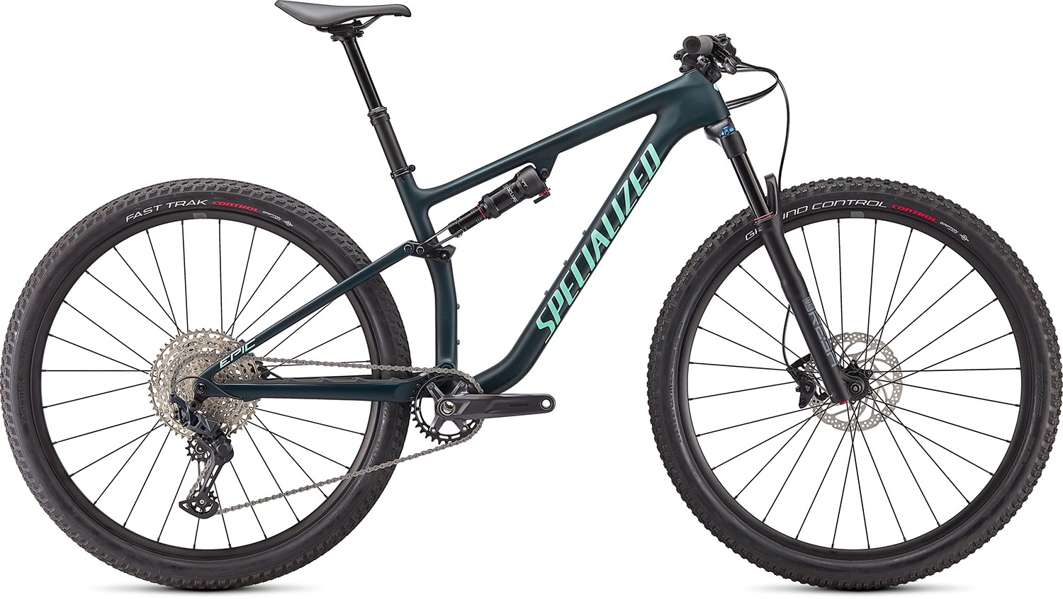 "horské kolo Specialized Epic Evo 29"" 2021 satin forest green/oasis"