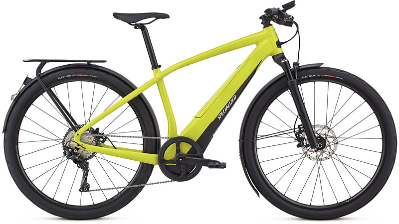 elektrokolo Specialized Vado 6.0 2018 satin limon/black/chrome