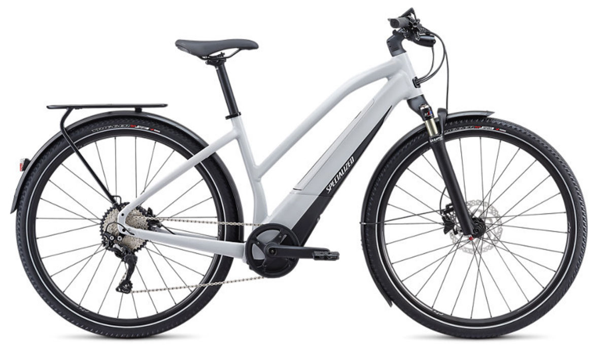 elektrokolo dámské Specialized Vado 4.0 Step Through 2020 gray/black/silver