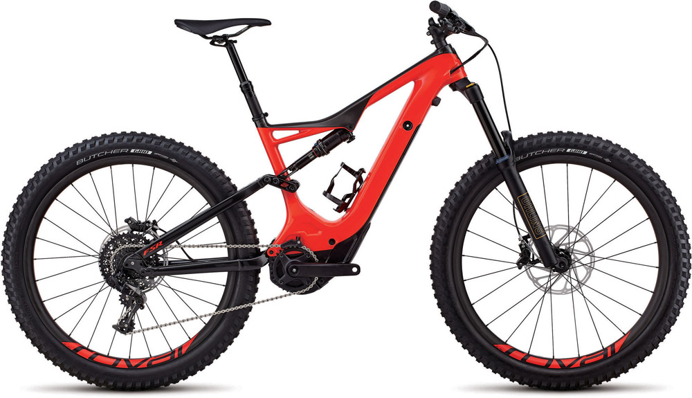 horské elektrokolo Specialized Levo FSR Expert Carbon 6fattie 2018 gloss red/carbon