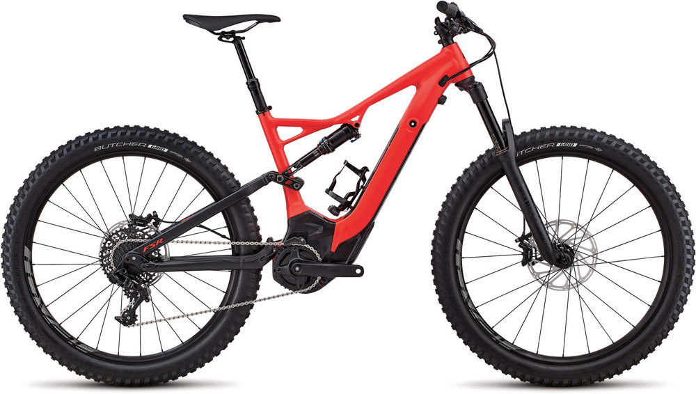 horské elektrokolo Specialized Levo FSR Comp 6fattie 2018 red/black