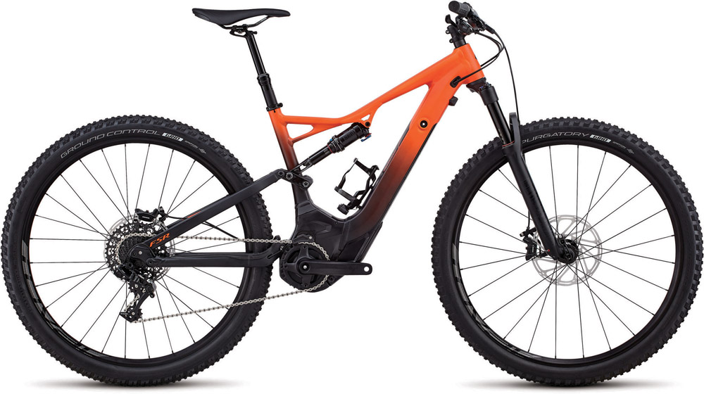 "horské elektrokolo Specialized Levo FSR ST Comp 29"" 2018 orange/black"