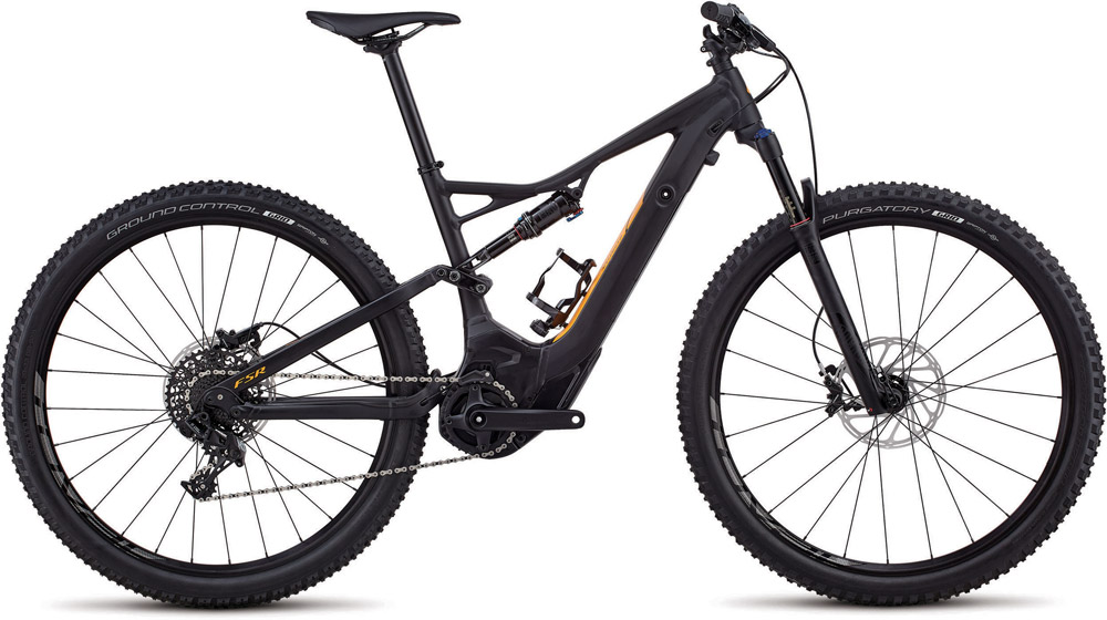 "horské elektrokolo Specialized Levo FSR ST 29"" 2018 black/orange"