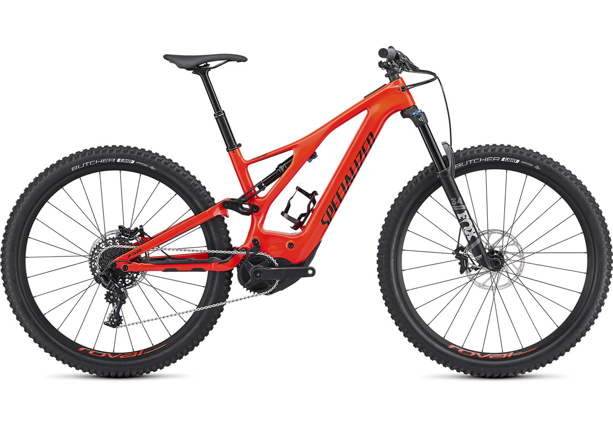 "horské elektrokolo Specialized Levo FSR Comp Carbon 29"" 2019 red/black"