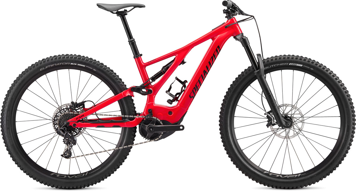 "horské elektrokolo Specialized Levo FSR 29"" 2020 red/black"