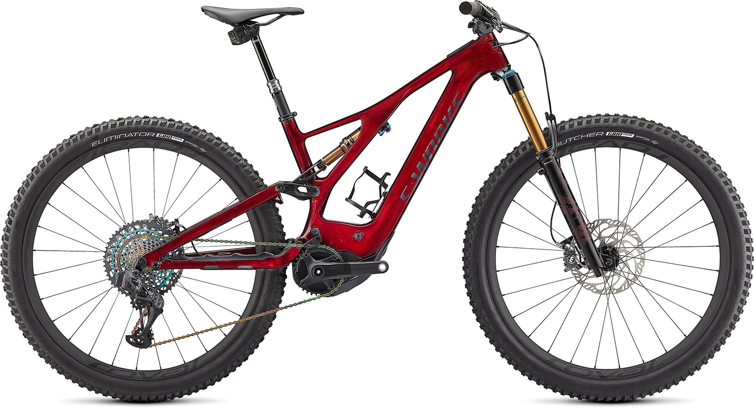 horské elektrokolo Specialized S-Works Levo 2021 red/satin black