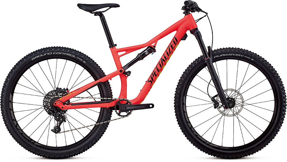 "dámské horské kolo Specialized Camber Women's Comp 27,5"" 2018 satin red/limon/black"