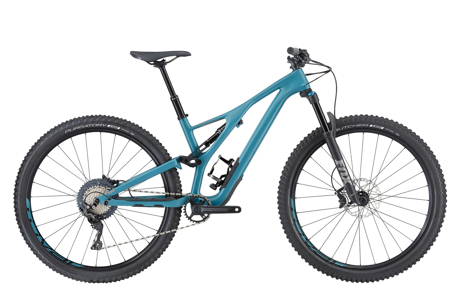 "horské kolo Specialized Stumpjumper FSR ST Women's Comp Carbon 29"" 2019 satin/turquoise/copper"