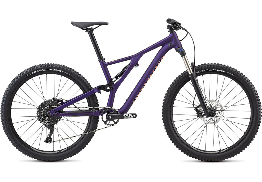 "horské kolo Specialized Stumpjumper FSR ST Women's 27,5"" 2019 satin gloss/purple/lava"