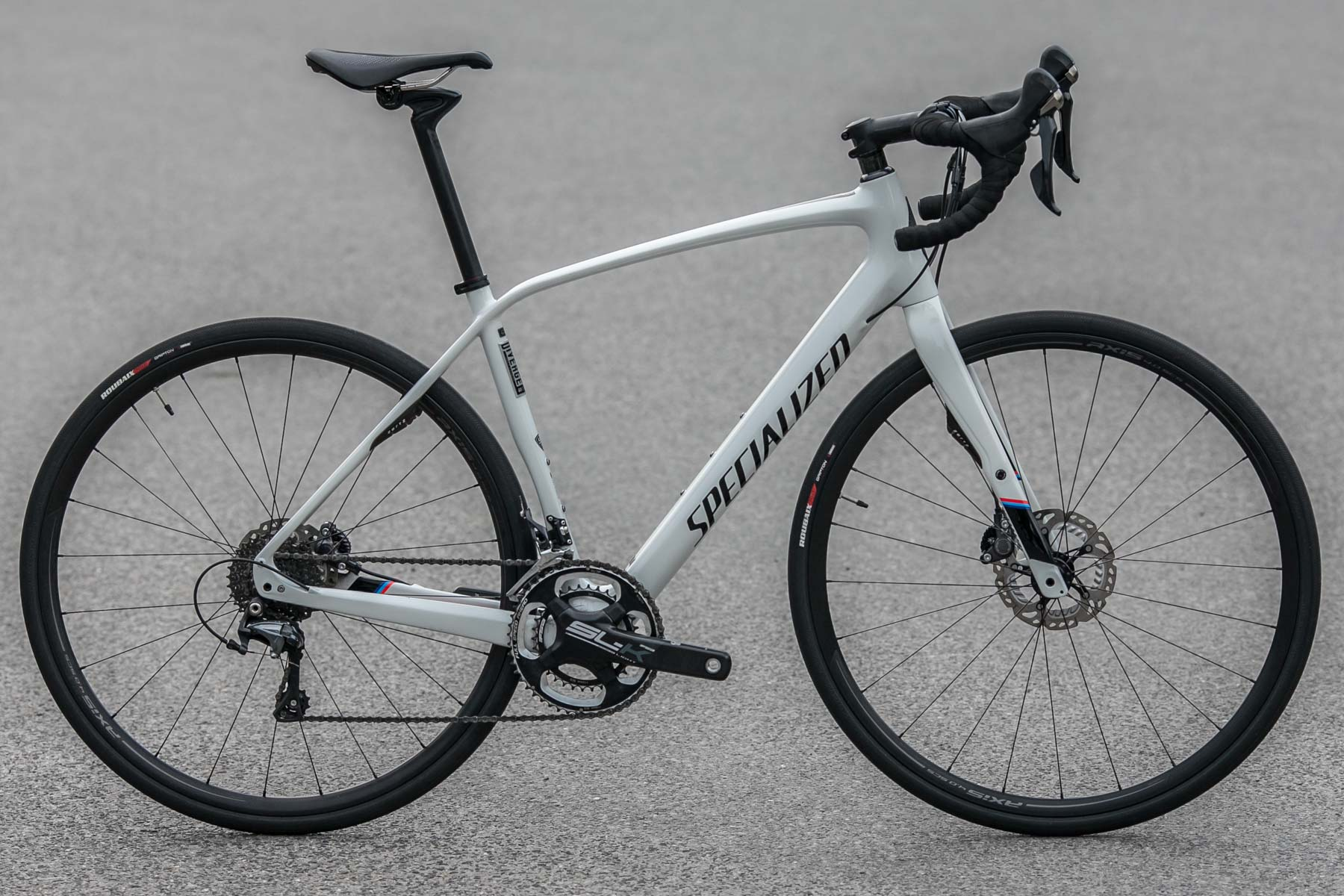 Specialized Diverge Expert Carbon 2016 gloss white carbon stripe - used 828142d1ed546