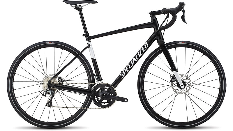 silniční kolo Specialized Diverge E5 Elite 2019 gloss black/white