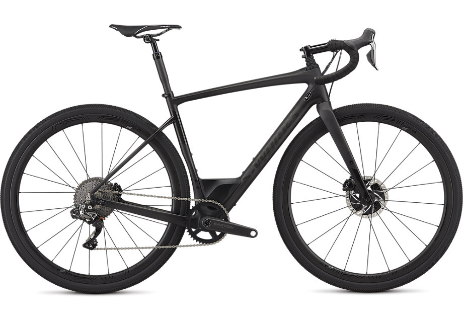 silniční kolo Specialized S-Works Diverge Di2 2019 satin carbon/black