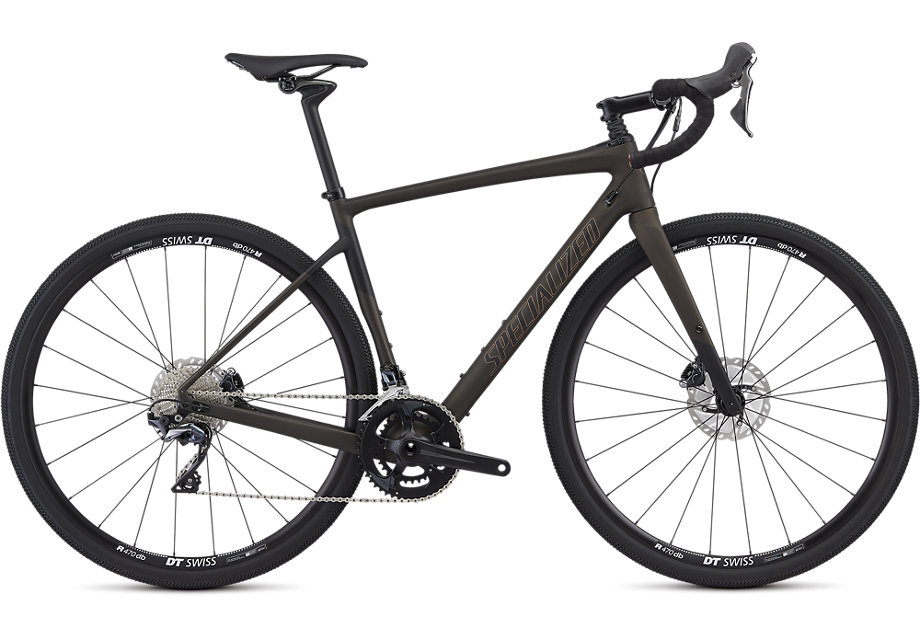 silniční kolo Specialized Diverge Comp 2019 satin brown/black