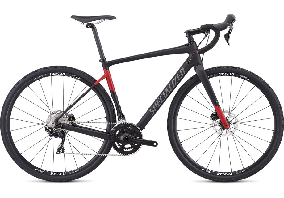 silniční kolo Specialized Diverge Sport 2019 satin black/red
