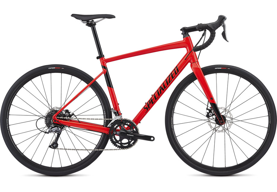 silniční kolo Specialized Diverge E5 2019 gloss red/black