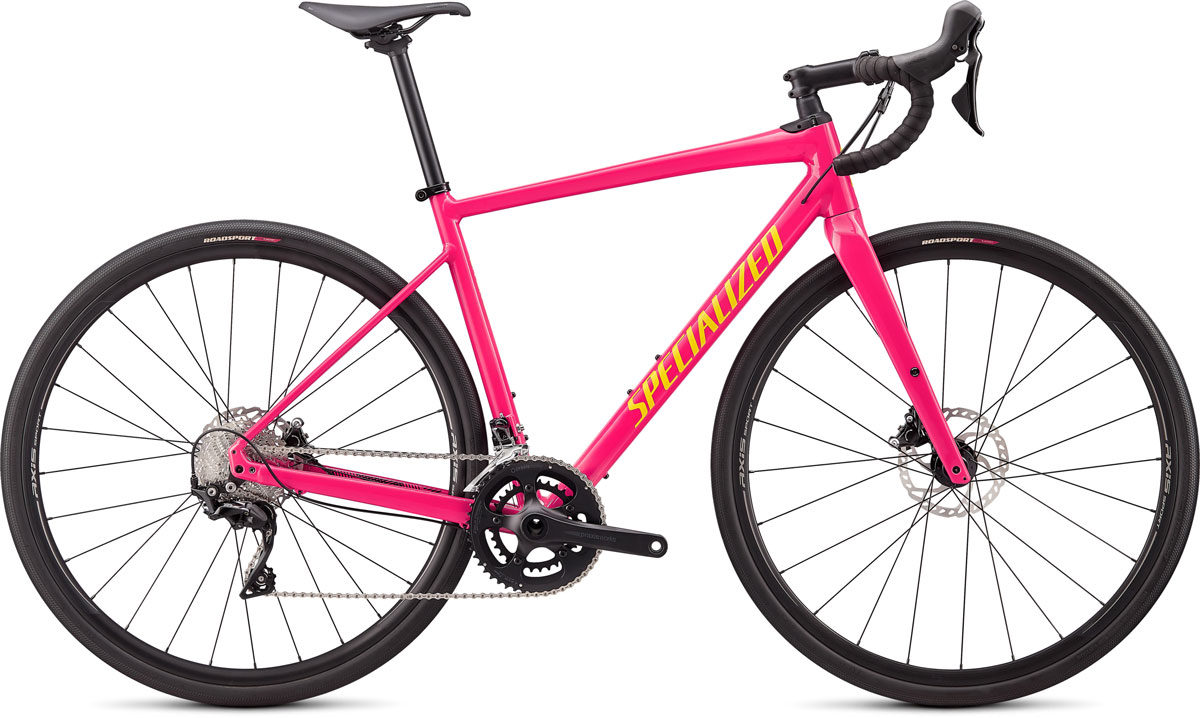 silniční kolo Specialized Diverge E5 Comp 2020 gloss pink/yellow
