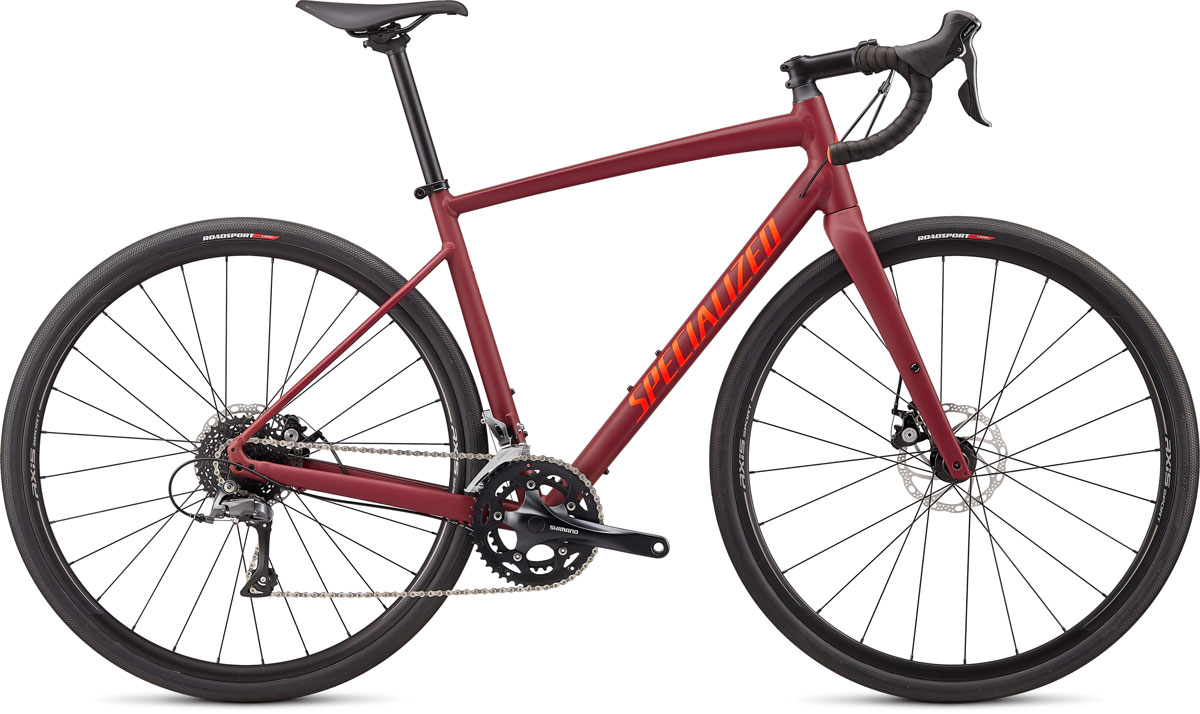 silniční kolo Specialized Diverge E5 2020 satin crimson/red