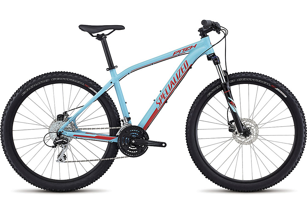 horské kolo Specialized Pitch 650b 2017 gloss light blue/nordic red