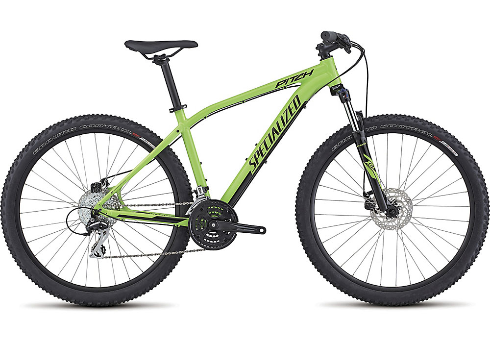horské kolo Specialized Pitch 650b 2017 gloss monster green/black