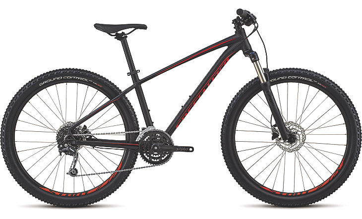 "horské kolo Specialized Pitch Expert 27,5"" 2018 satin gloss carbon/black/red"