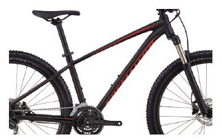 "horské kolo Specialized Pitch Expert 27,5"" 2019 black/red"