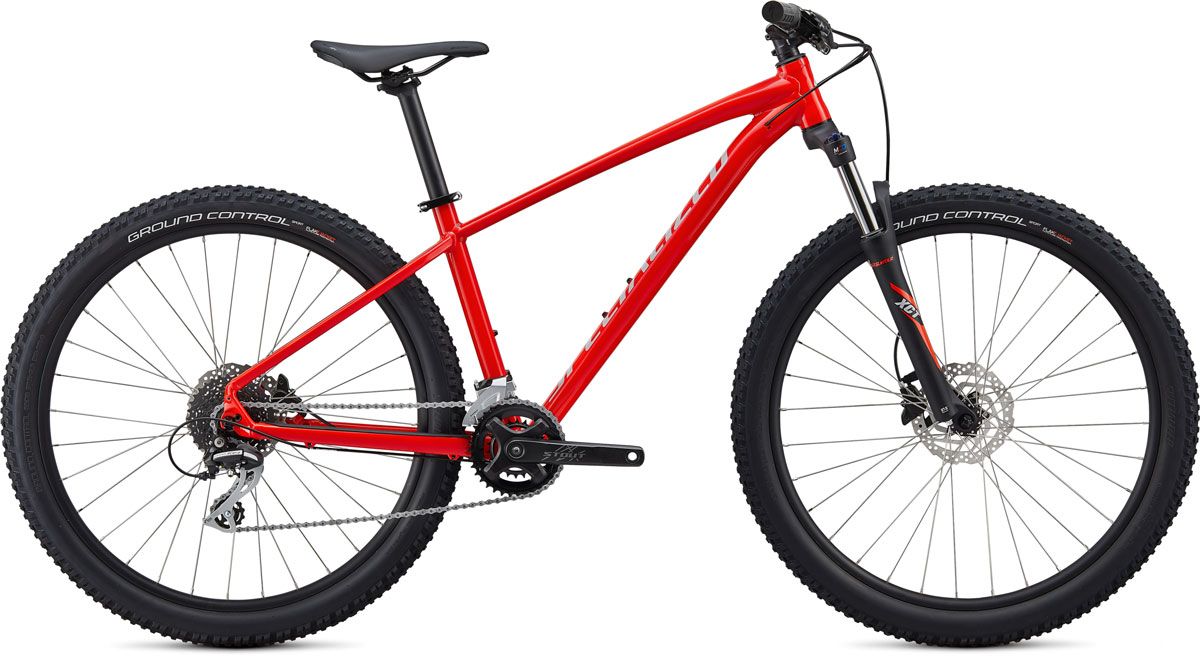 "horské kolo Specialized Pitch Sport 27,5"" 2020 gloss red/gray"
