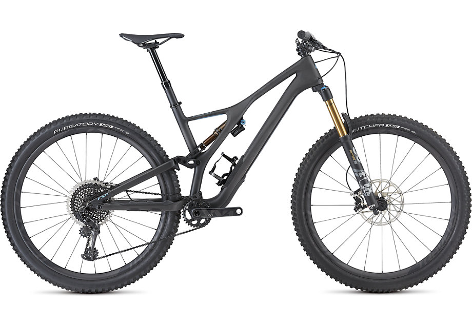 "horské kolo Specialized S-Works Stumpjumper FSR LT Carbon 29"" 2019 satin/carbon/gray"