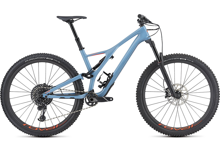 "horské kolo Specialized Stumpjumper FSR LT Expert Carbon 29"" 2019 gloss/gray/red"