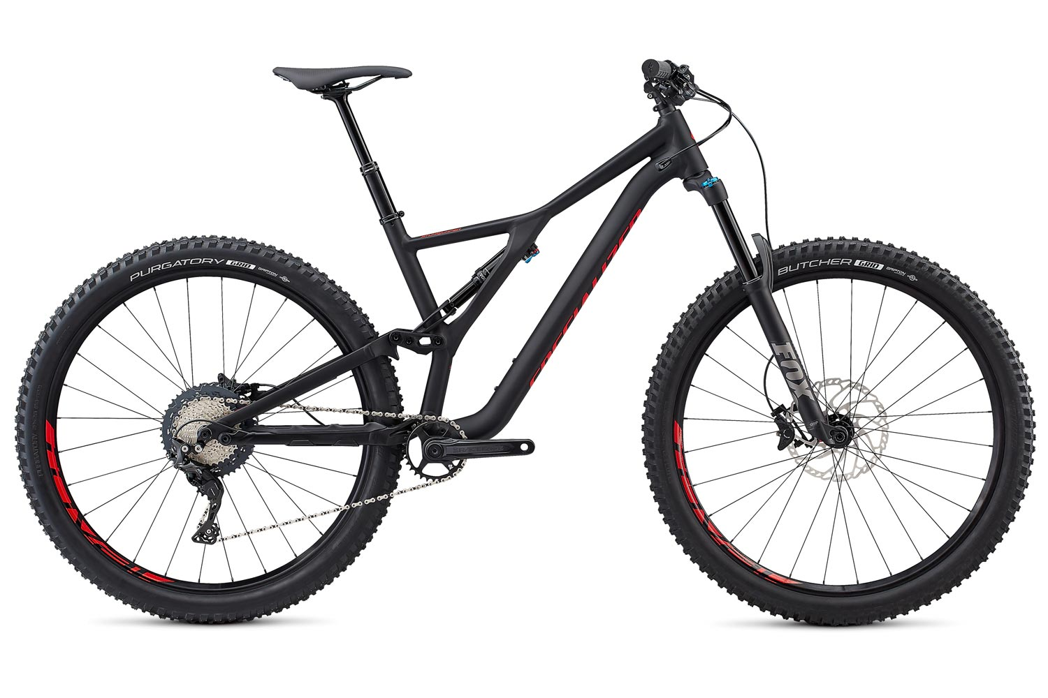 "horské kolo Specialized Stumpjumper FSR LT Comp 29"" 2019 satin/black/red"