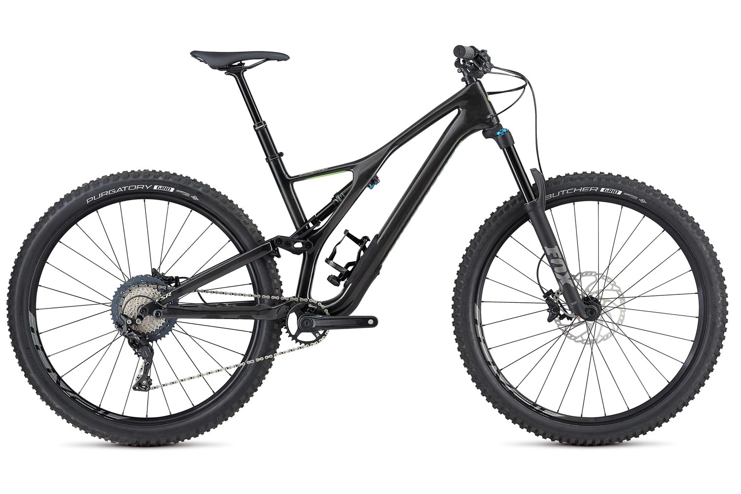 "horské kolo Specialized Stumpjumper FSR LT Comp Carbon 29"" 2019 gloss/carbon/green"