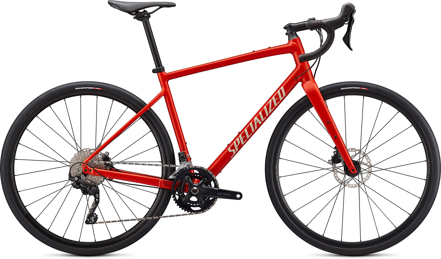 silniční kolo Specialized Diverge E5 Elite 2021 satin red/white