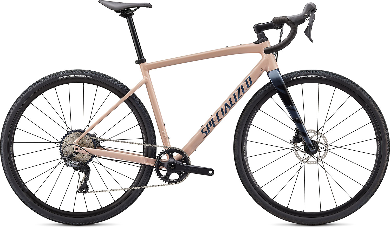 silniční kolo Specialized Diverge E5 Comp 2021 gloss blush/blue