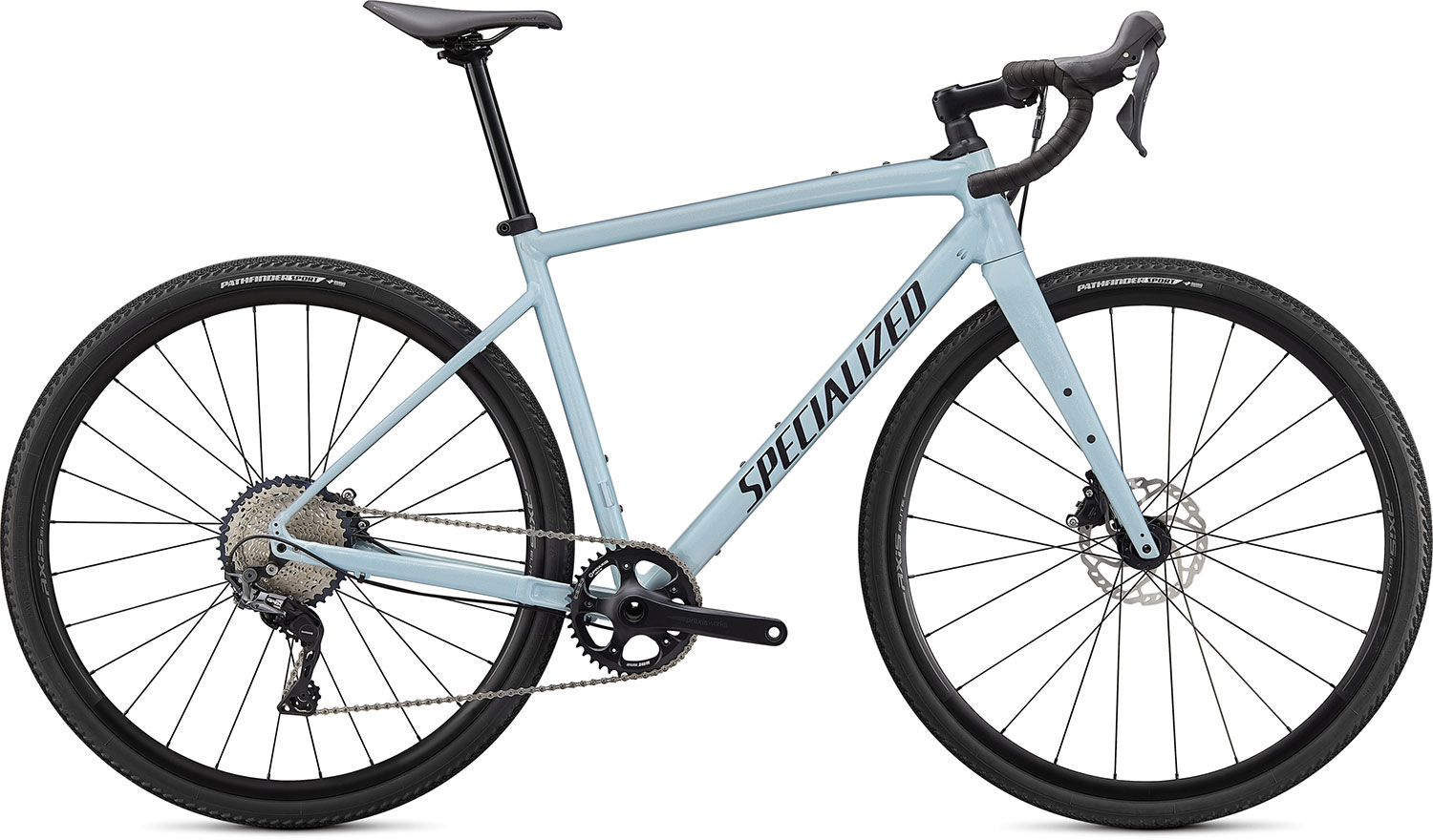 silniční kolo Specialized Diverge E5 Comp 2021 gloss ice blue/smoke