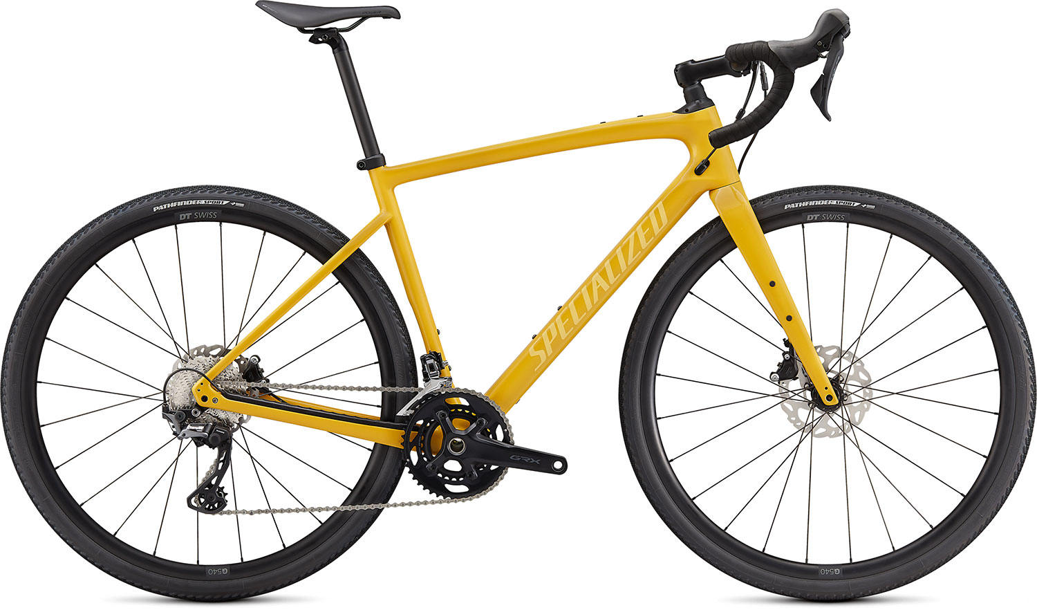 silniční kolo Specialized Diverge Sport Carbon 2021 gloss yellow/yellow