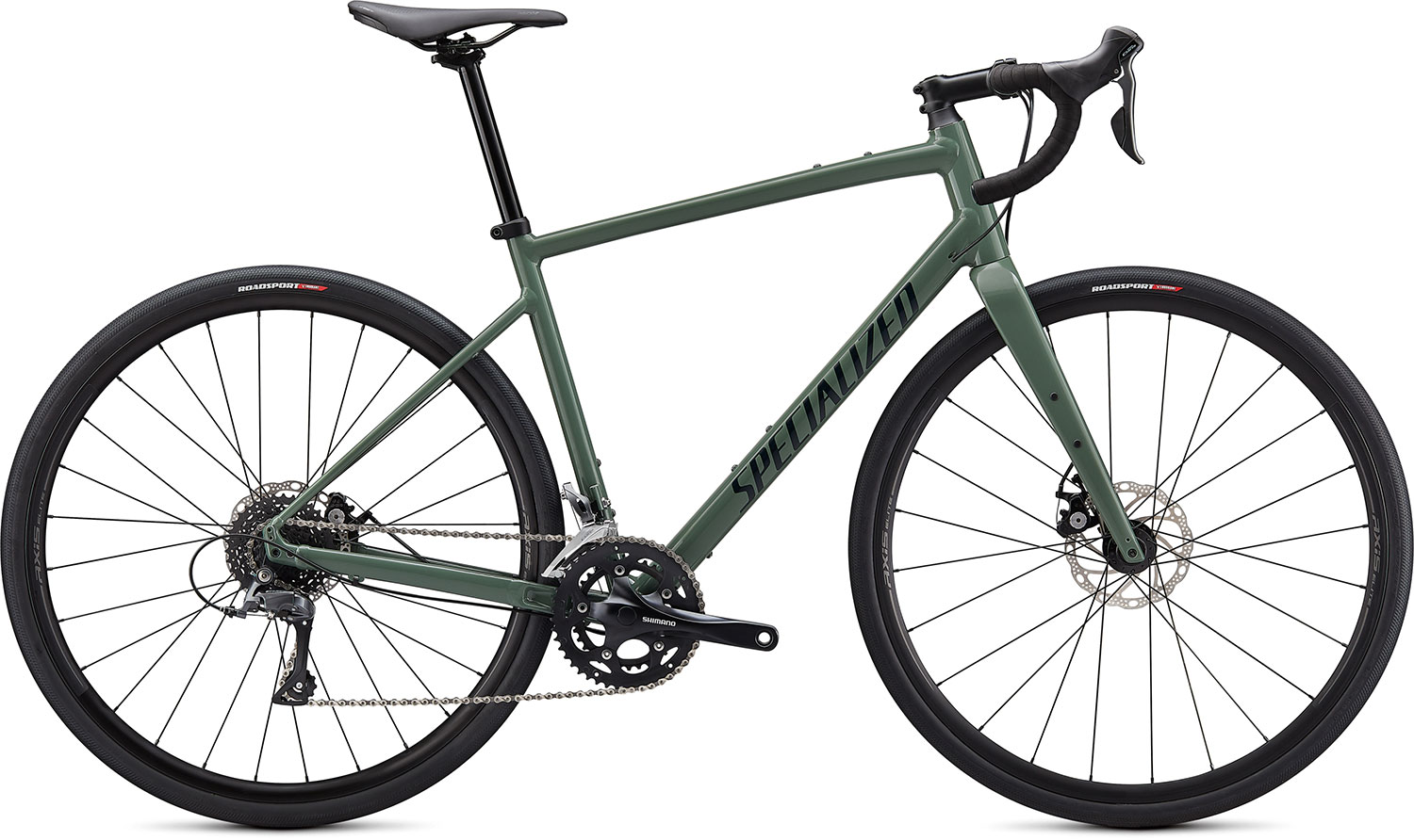 silniční kolo Specialized Diverge E5 2021 sage green/chrome
