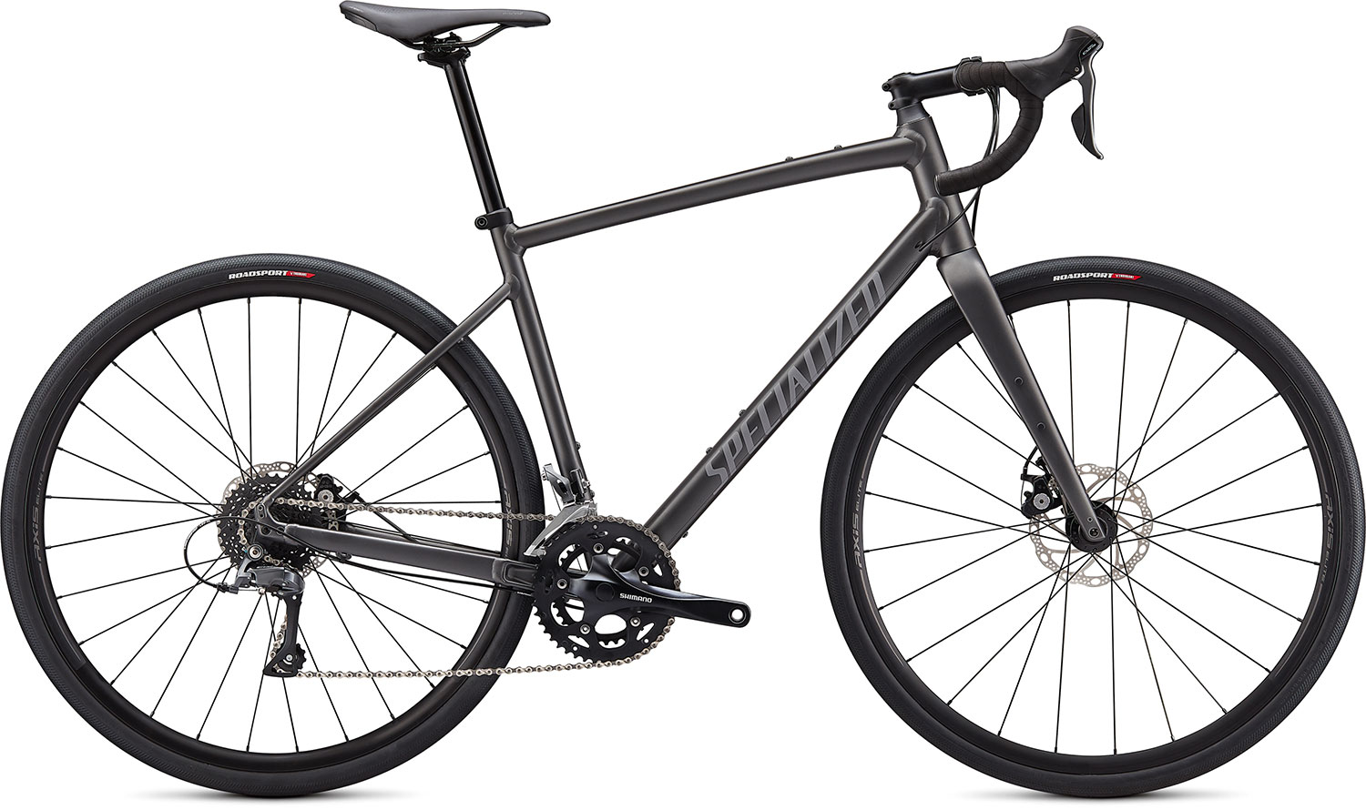 silniční kolo Specialized Diverge E5 2021 satin smoke/gray