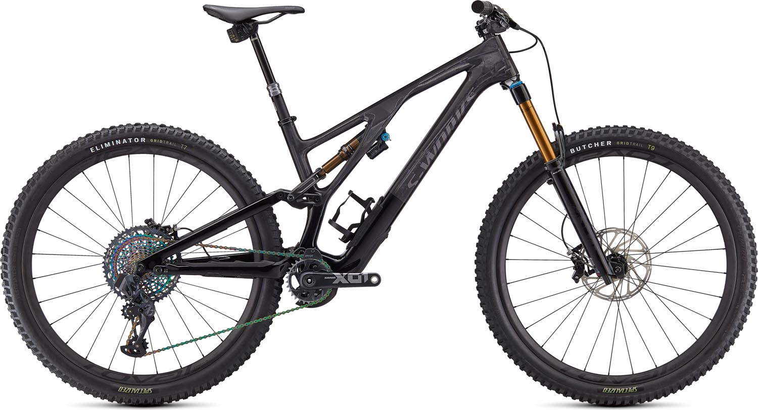 "horské kolo Specialized S-Works Stumpjumper FSR Evo Carbon 29"" 2021 gloss carbon/black"