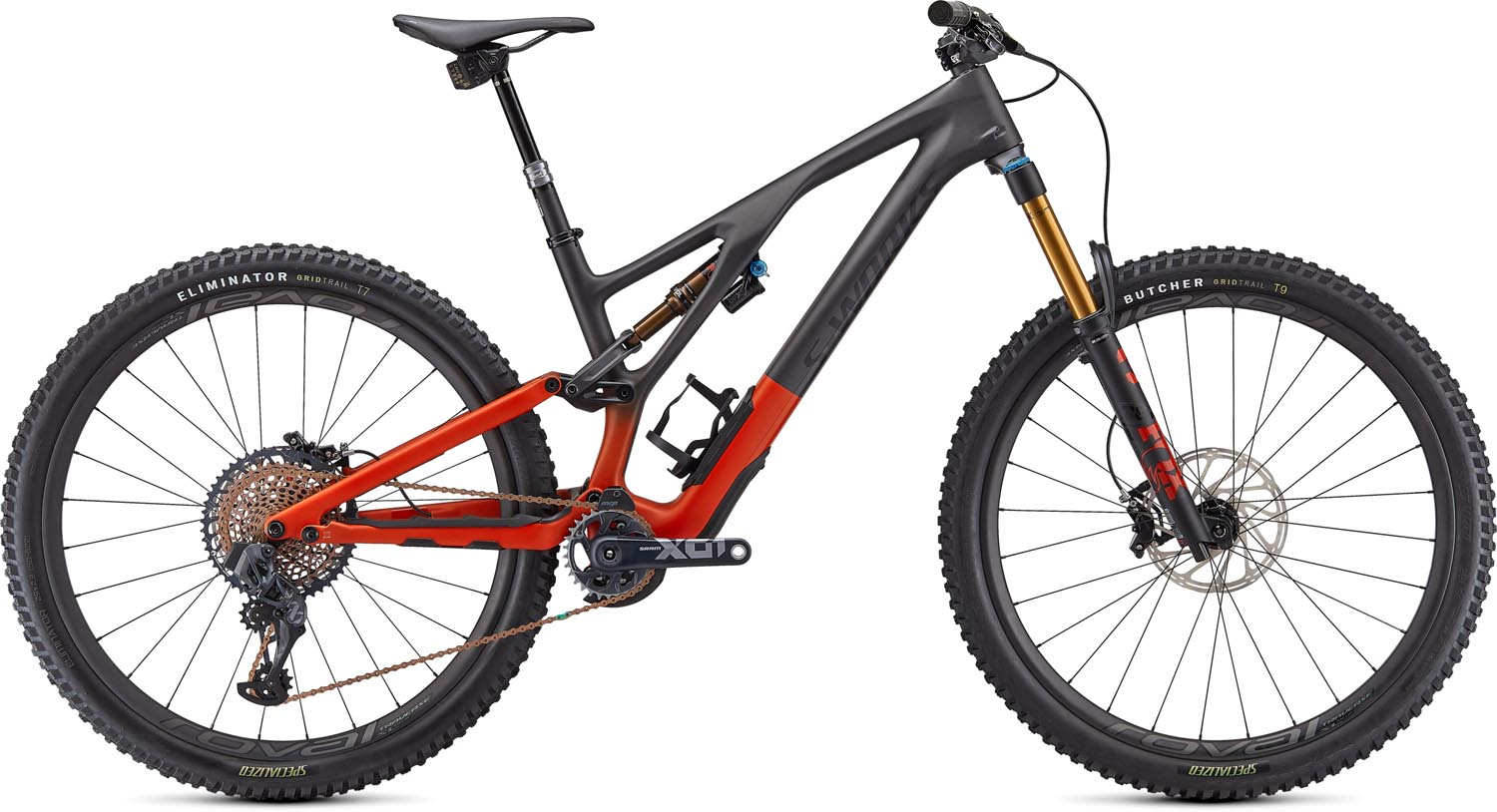 "horské kolo Specialized S-Works Stumpjumper FSR Evo Carbon 29"" 2021 satin redwood/black"