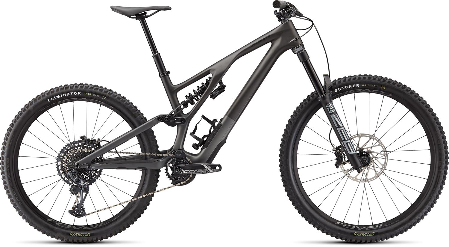 horské kolo Specialized Stumpjumper FSR Evo Carbon LTD 2021 satin charcoal/black
