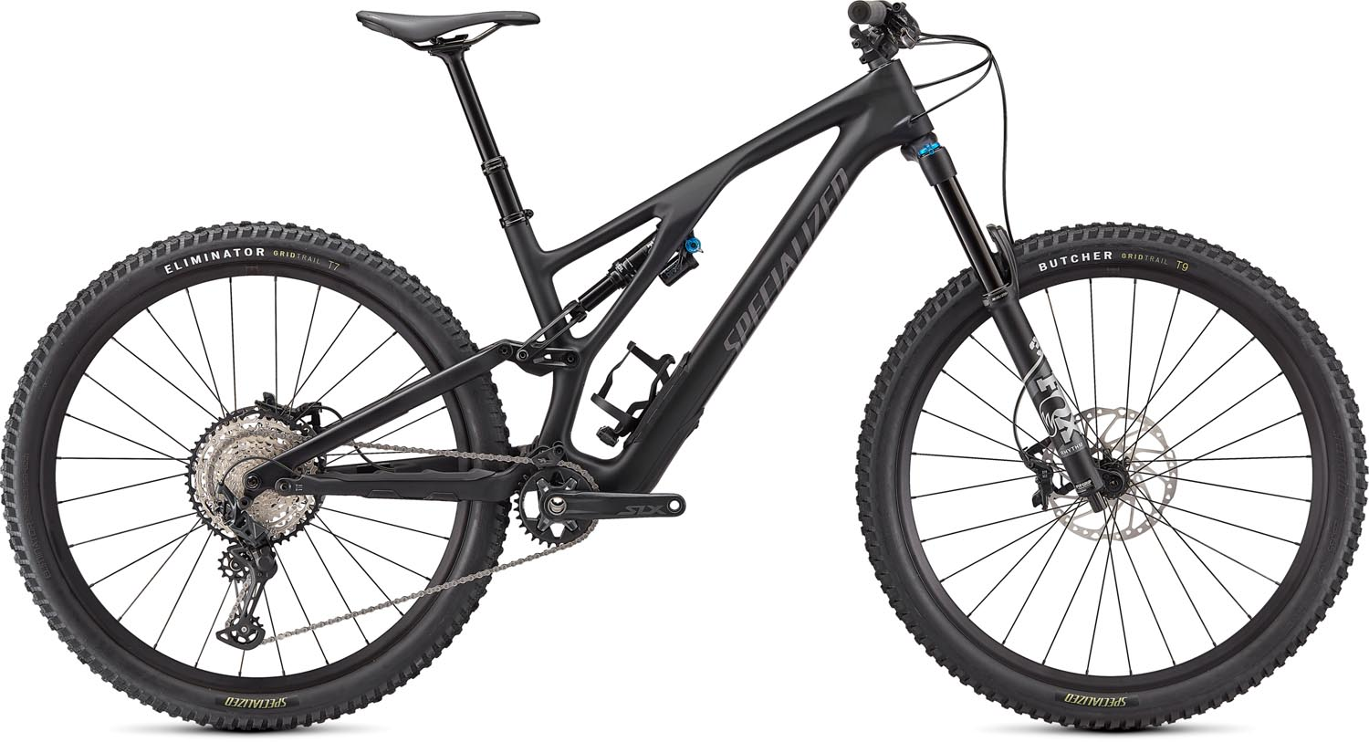 "horské kolo Specialized Stumpjumper FSR Evo Comp Carbon 29"" 2021 satin black/smoke"