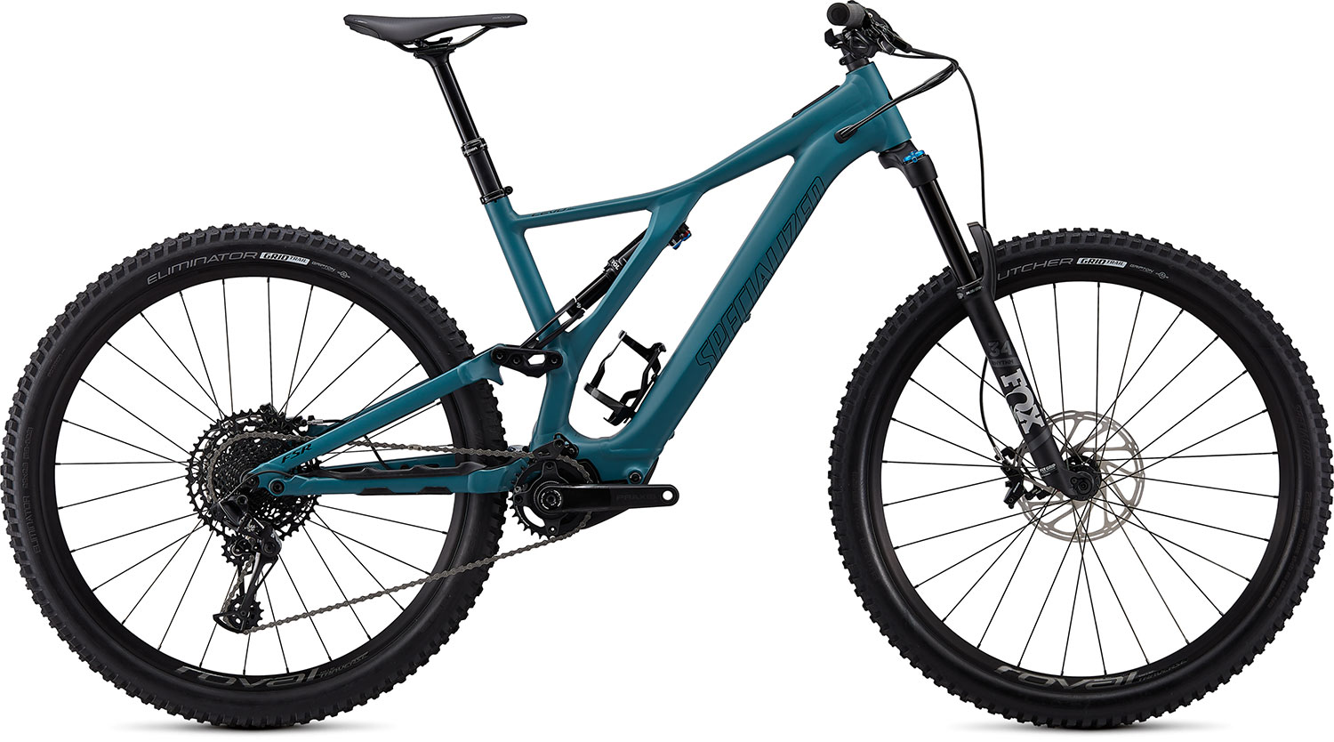 "horské elektrokolo Specialized Levo SL Comp 29"" 2021 dusty turquoise/black"