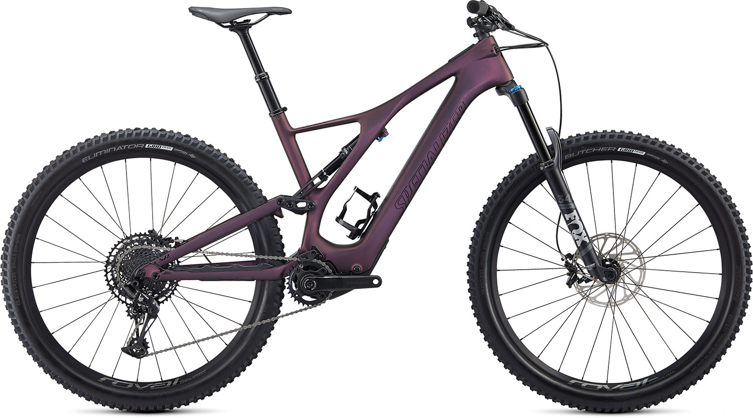 "horské elektrokolo Specialized Levo SL Comp Carbon 29"" 2021 cast berry/black"