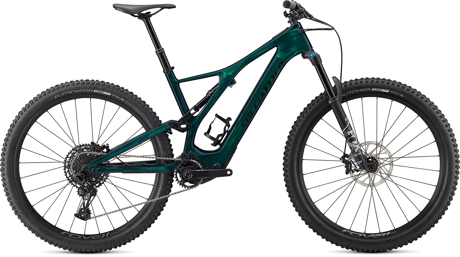 "horské elektrokolo Specialized Levo SL Comp Carbon 29"" 2021 green/black"