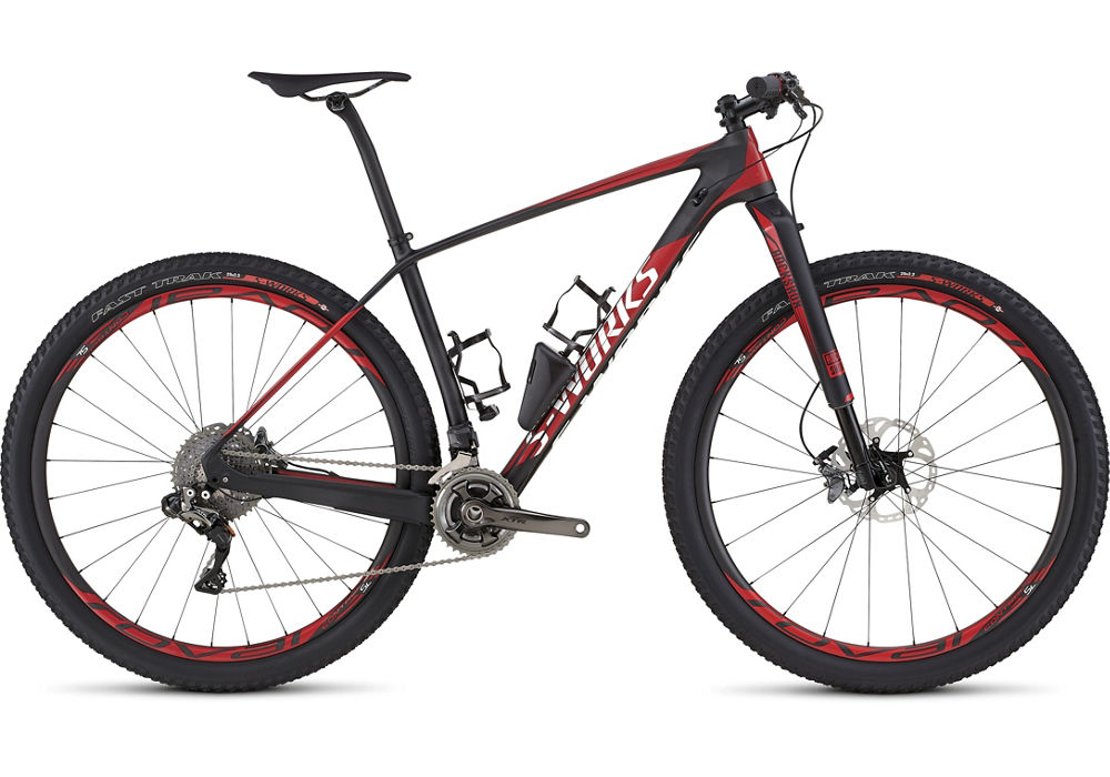 horské kolo Specialized S-Works Stumpjumper HT Carbon DI2 29 2016 carbon/red/white