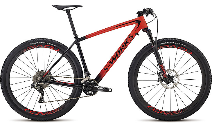 horské kolo Specialized S-Works Epic HT XTR Di2 2018 satin gloss red/black
