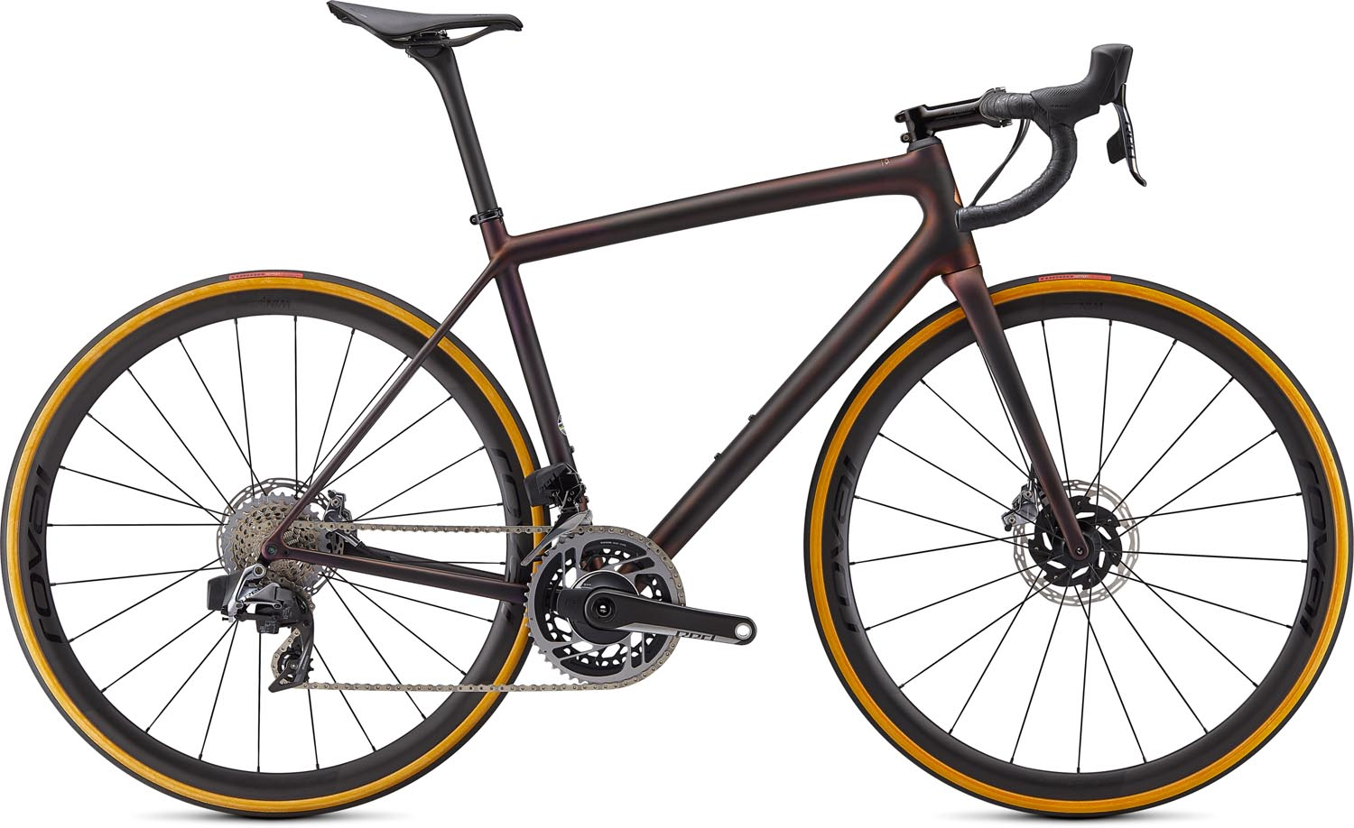 silniční kolo Specialized S-Works Aethos eTap 2021 carbon/red/bronze