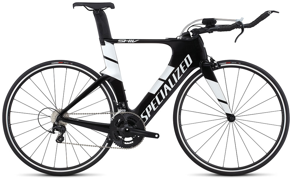 silniční kolo Specialized Shiv Elite 2018 gloss carbon/white