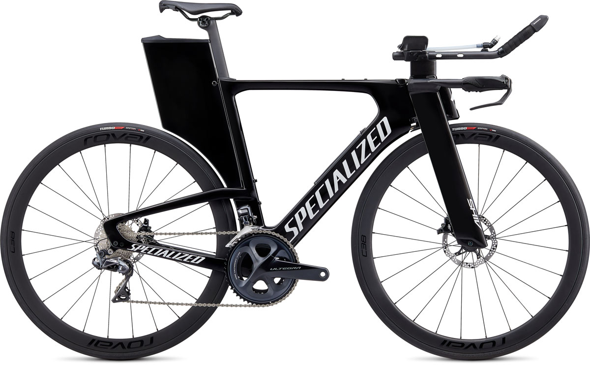 silniční kolo Specialized Shiv Expert Disc Di2 2020 gloss carbon/white